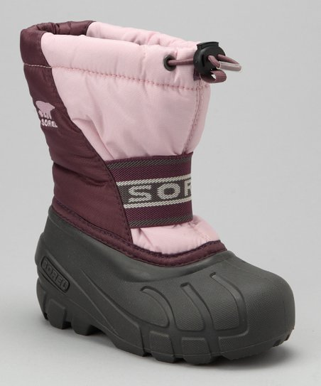 Isla & Crushed Berry Recycled Cub Waterproof Boot