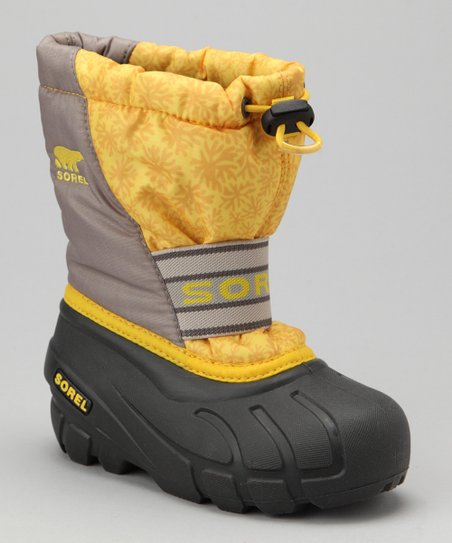 Laser Lemon & Flint Gray Cub Boot