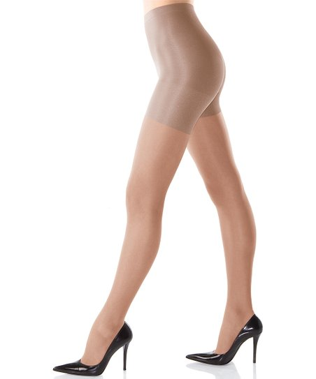 SPANX All The Way Medium Control Sheer Pantyhose - Nude