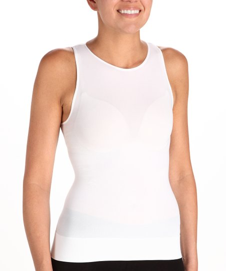 SPANX® On Top And In Control™ Sleeveless Crew Shaper Tank - White