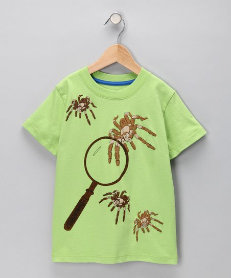 Lime Green Tarantula Tee - Infant &amp; Toddler
