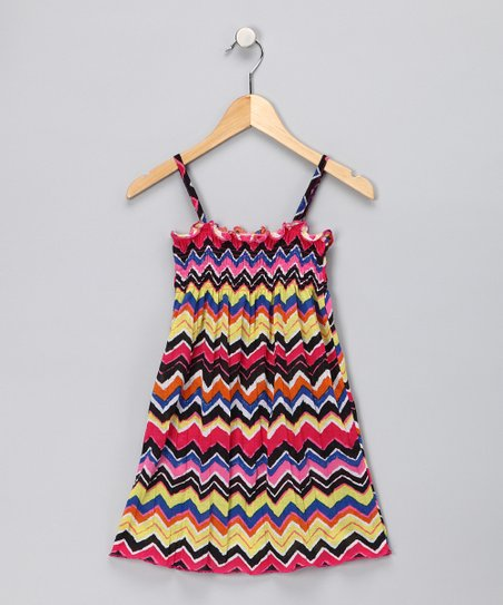 Yellow Stripe Dress - Toddler
