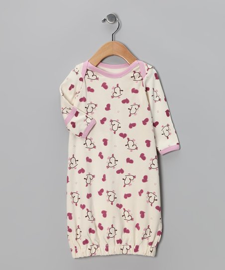 Pink Nursery Charms Organic Gown - Infant
