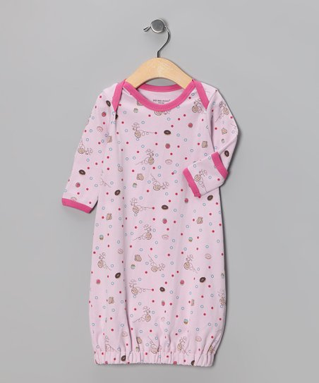 Pink So Yummy Organic Gown - Infant