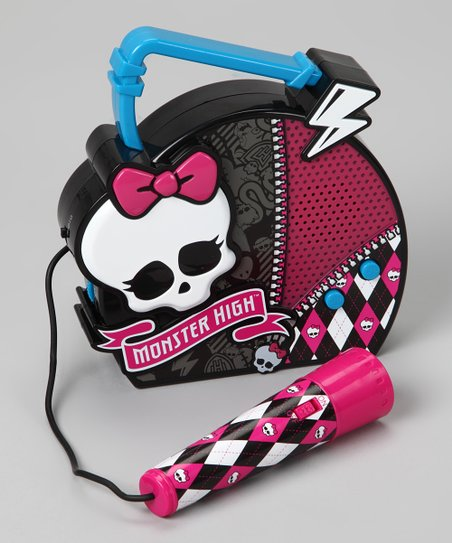 Monster High Sing Along Karaoke Machine