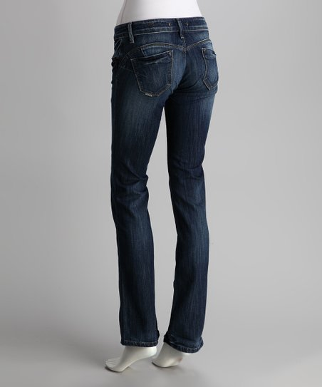 Medium Indigo Wonder Bootcut Jeans