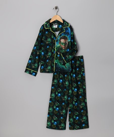 Green Lantern Pajama Set - Boys