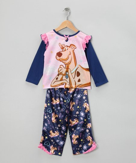 Blue Scooby-Doo Pajama Set - Toddler & Girls