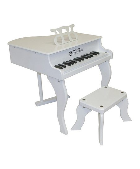 White 37-Key Elite Baby Grand