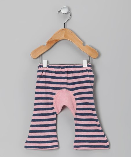 Pink Stripe Organic Pants - Infant