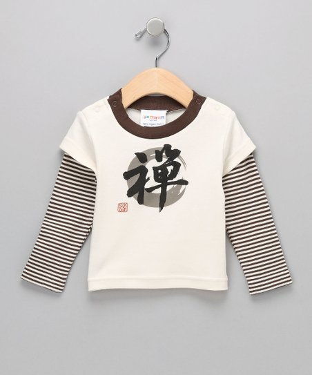 Natural Zen Organic Layered Tee - Infant