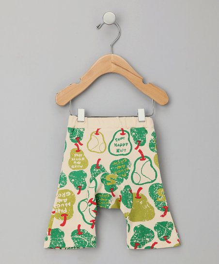 Green Pear Organic Capri Pants - Infant