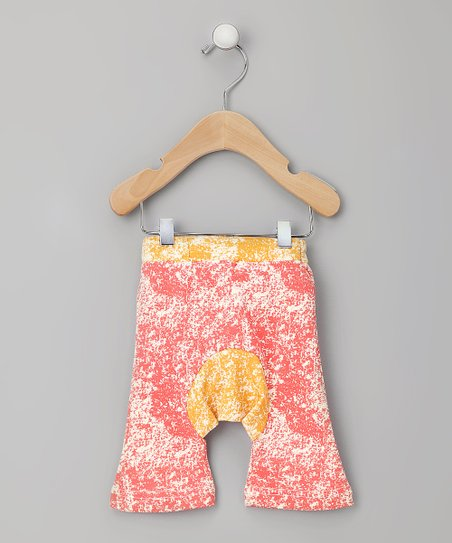 Red Organic Capri Pants - Infant & Toddler