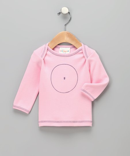 Pink Circle Organic Tee - Infant & Toddler