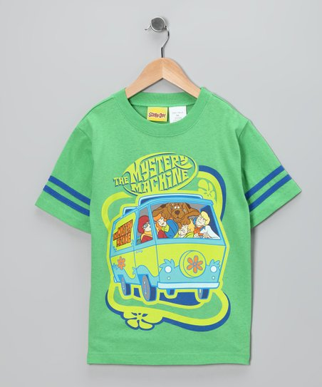Green 'Mystery Machine' Scooby-Doo Tee