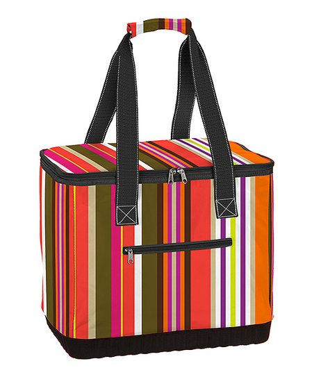 Stripe Deux Soleils Stand Up Tote
