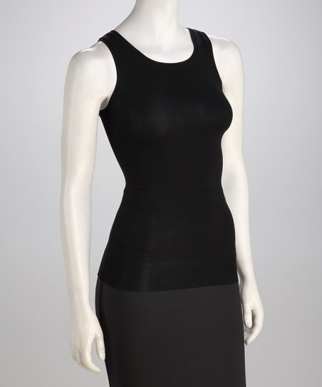 Black Show it Off Shaper Tank - Women & Plus
