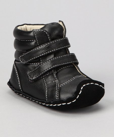 Black Smaller Collin Boot
