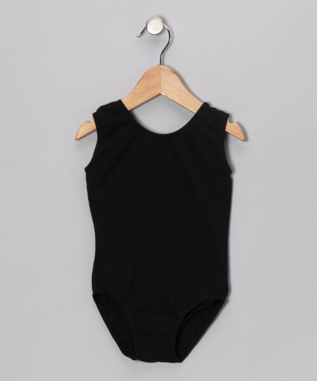 Black Leotard - Toddler & Girls
