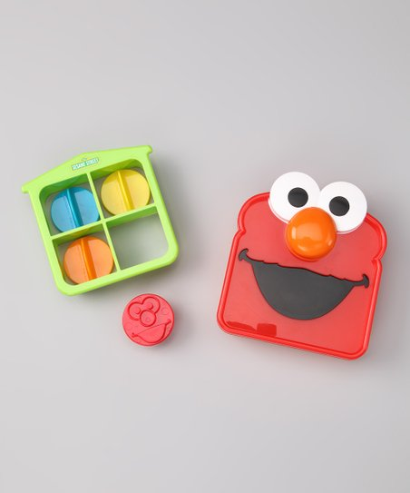 Elmo Sandwich Stamps & House Crust Cutter Set