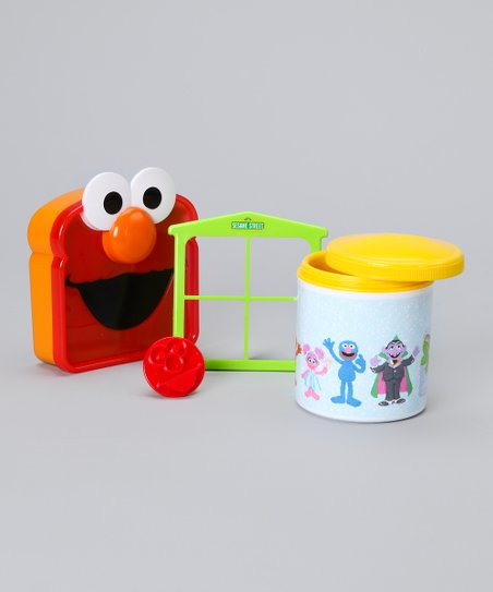 Yellow Elmo Lunch Set