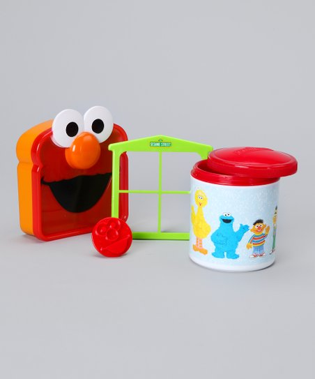 Red Elmo Lunch Set