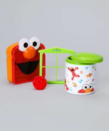 Green Elmo Lunch Set
