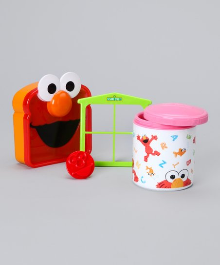 Pink Elmo Lunch Set