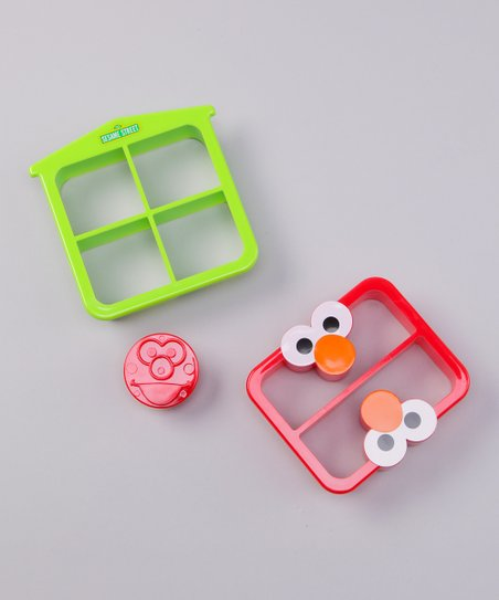 Elmo Crust Cutter Set