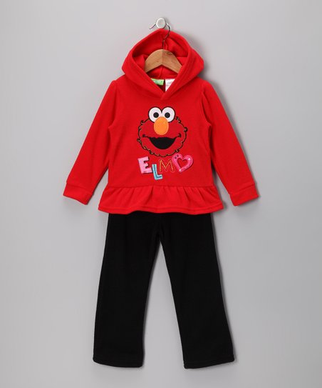 Red Elmo Hoodie & Pants - Infant
