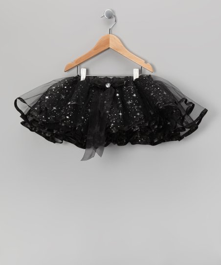 Black Galaxy of Stars Tutu - Girls