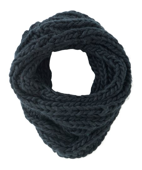 Shiraleah Charcoal Avalon Infinity Scarf