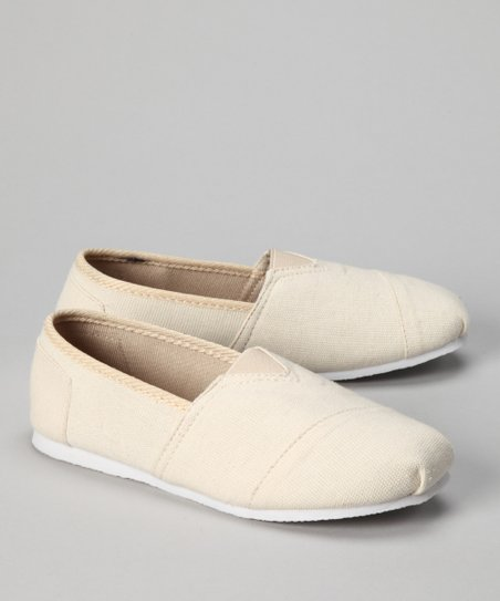 Natural Slip-On Shoe