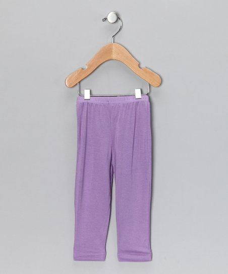 Purple Leggings - Infant, Toddler & Girls
