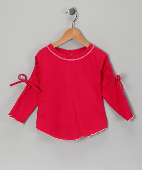 Red Adjustable Tee - Infant, Toddler & Girls