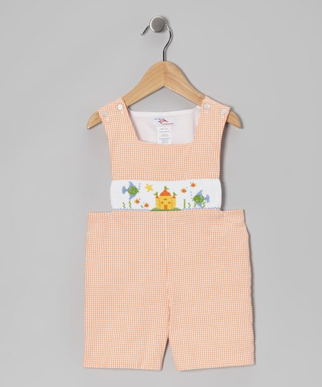 Orange Ocean John Johns - Infant & Toddler