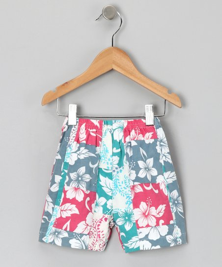 Berry Blast Patchwork Shorts - Infant, Toddler & Girls