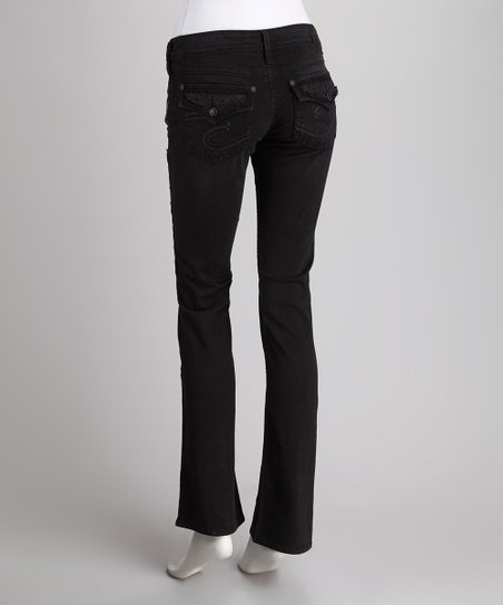 Silver Jeans Co. Black Pioneer Bootcut Jeans