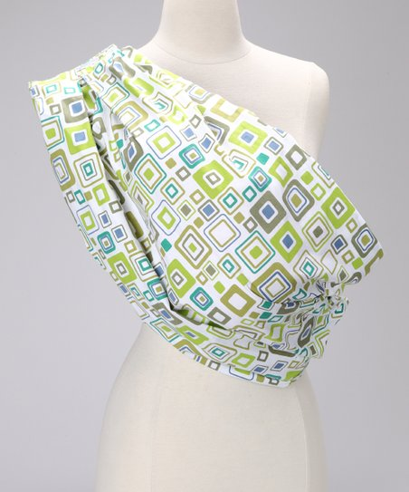 Green Square Snugly Sling
