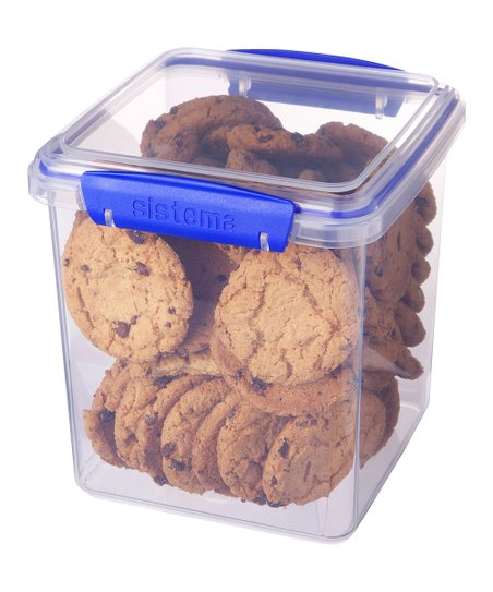 Blue 85-Oz. KLIP IT Cookie Box