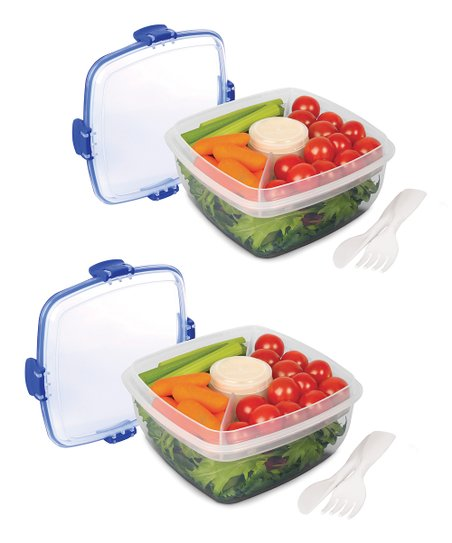 Salad Container - Set of Two