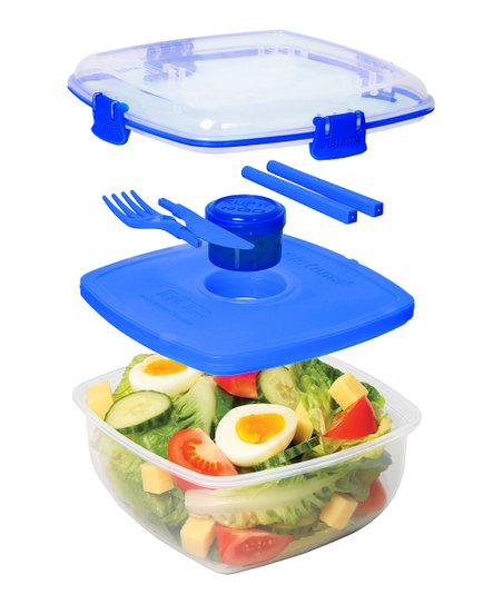 Blue Chill It To-Go Container Set