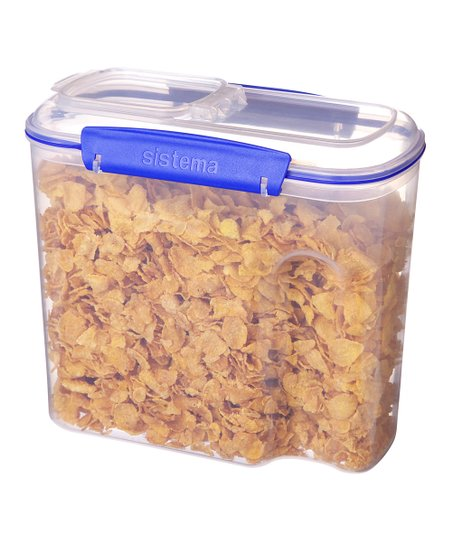 Blue 94-Oz. KLIP IT Cereal Container
