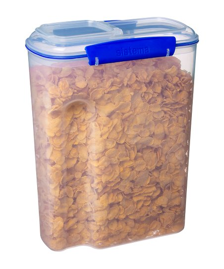 Blue KLIP IT Cereal Container