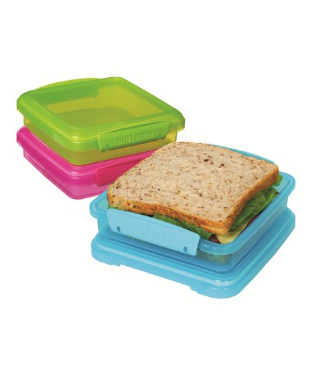 Color Block KLIP IT Sandwich Box Set