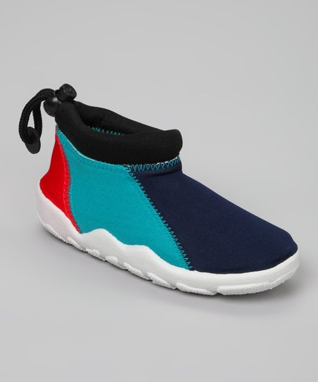 Blue & Red Water Shoe
