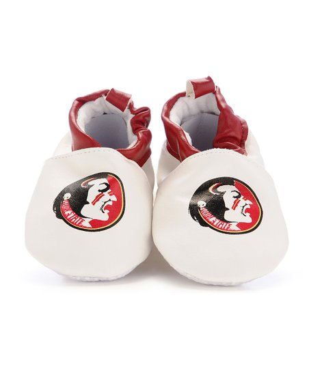 White & Garnet Florida State Booties - Kids
