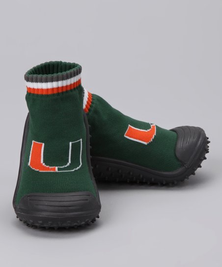 Miami Hurricanes Gripper Shoes