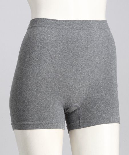 Heather Gray Seamless Shaper Boyshorts