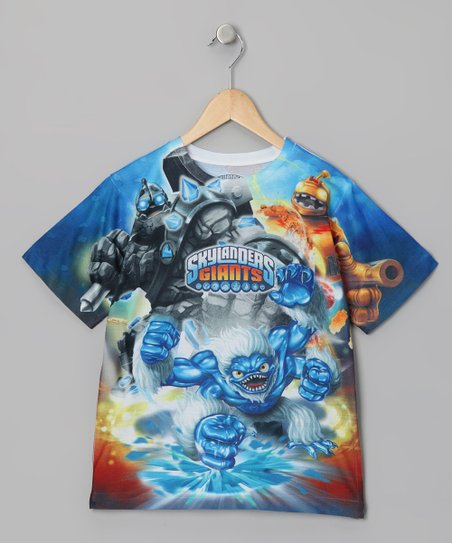 Blue 'Skylanders Giants' Sublistatic Tee